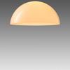 Large White Acrylic Dome 'oluce' Hanging Lamp