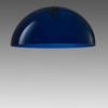 Blue Acrylic Large Dome 'oluce' Hanging Lamp