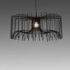 Black Wire (75cm X 32cm) Icaro Hanging Lamp