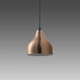 Rose Gold ''Clerkenwell'' Hanging Lamp