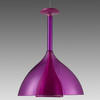 Purple Perspex  Floob   Pendant Light
