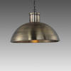 "Antique Brass ""Spitalfield"" Dome Hanging Lamp"