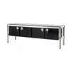 Rect Black Lacq And Ali Acerbis Sideboard