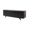 Lge Black Wooden  Buffet Sideboard