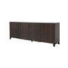 American Black Walnut 4 Door Sideboard