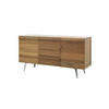 Rs Fumed Oak Wooden Sideboard