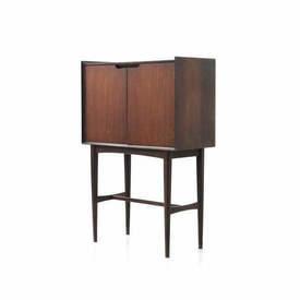 Rosewood Retro 2 Door Cocktail Cabinet