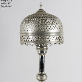Chrome Lamp And Shade