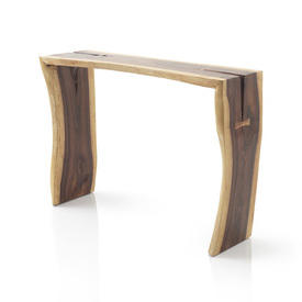 "Two Tone Wooden ""Sono"" Console Table"