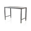 Rect.40's Aged Metal 138 Cm X 67 Cm Work Table  (, Vintage)