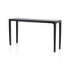 Rs Black Lacqured 'metro' Console Table
