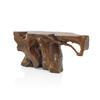 "5'7"" Solid Teak Root Console Table"