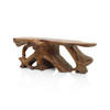 "6'9"" Solid Teak Root Console Table"