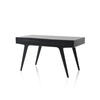 Black Wooden Buffett Desk (70cm X 140cm X H76cm)