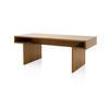 Rosewood 'origami' Angular Desk (85cm X 200cm X H75cm)