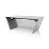 Chrome Vega Desk (90cm X 200cm X H75cm)