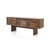 Walnut Ribbed Door Tall Karimoko Sideboard
