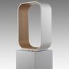 White & Oak Inner 'contour' Table Lamp