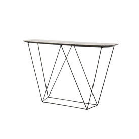 "Grey Mineral Top ""Trapeze"" Console Table"