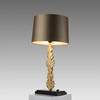 Antique Gold 'feuille' Leaf Table Lamp