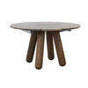 "Smoked Oak Leg ""Balance""  Dining Table With ( H: 74cm L: 225cm W: 125cm )"