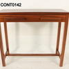 86cm X 34cm Amber French Cherry 1 Drawer Console Table