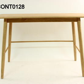 Malmo Solid Oak 120Cm X 45Cm Console Table