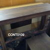 190 Cm Rectangular Mahogany Square Leg Martin Console Table