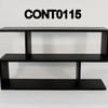 120cm Black Ash Conran Grid Console Table