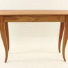 Cherrywood Rectangular Curved Leg 'martin' Console Table