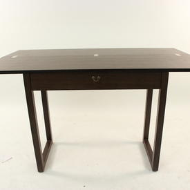 Caligaris Wenge Flip Top Console Table