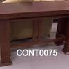Carlton Deco 5' Mahogany  Console Table
