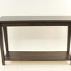 Dark Stained Pine 2 Tier Ikea Console Table