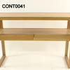 Creafort Oak Oil Wax 2 Drawer Console Table