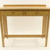 Light Oak Mackintosh 2 Drawer Slatted Side Console Table
