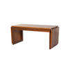 Rosewood Rect Coffee Table With Folding Sides (107cm X 46cm X 46cm H, 184cm Extended) (, Vintage)