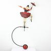 Vintage Metal Balace Toy [Rope Walker]  (Y)