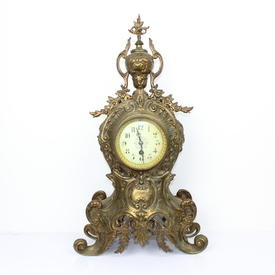 57Cm Bronze Decorative Clock