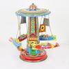 Tin Rocket Ride Carousel  (Y)