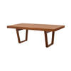 Large Rect American Walnut 'gueta' Dining Table (100cm X 200cm X H73cm)