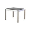 Black Lacquer And Ali Acerbis Lamp Table (42 Cm H X 59 Cm X 51 Cm)