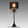 Black & Green Palm Tree 'floridita' Table Lamp