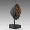 Grey Oxidised Dusk Table Lamp
