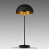 Black & Gold 'bowler' Table Lamp