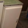 74 X 32 Cm Cream Metal One Door, Green Top Kitchen Base Unit