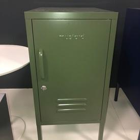 Shorty 'Must-Made' 1 Door Vented Olive Green Locker