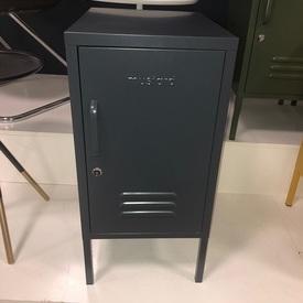 Shorty 'Must-Made' 1 Door Vented Slate Grey Locker (Tatty)
