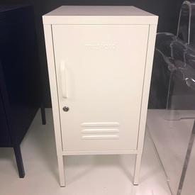 Shorty 'Must-Made' 1 Door Vented White Locker
