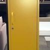 Tall 'must Made' 1 Door Vented Mustard Locker