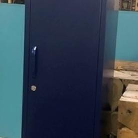 Tall 'Must-Made' 1 Door Vented Navy Locker